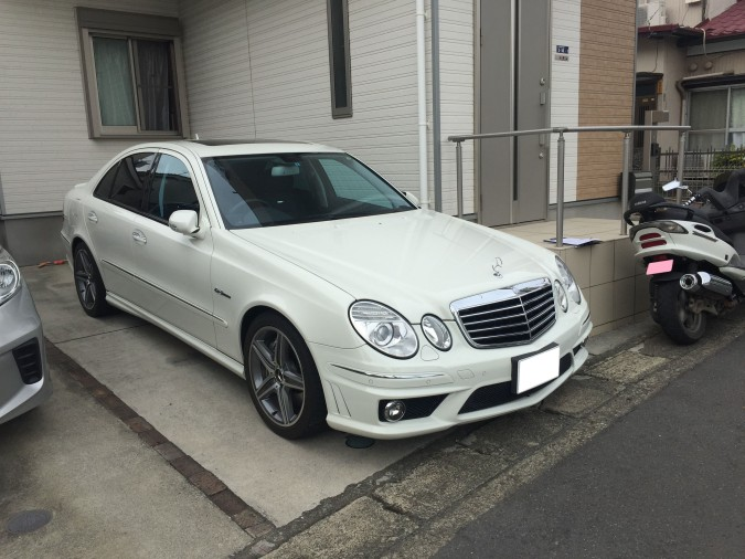 MB E63 FRONT