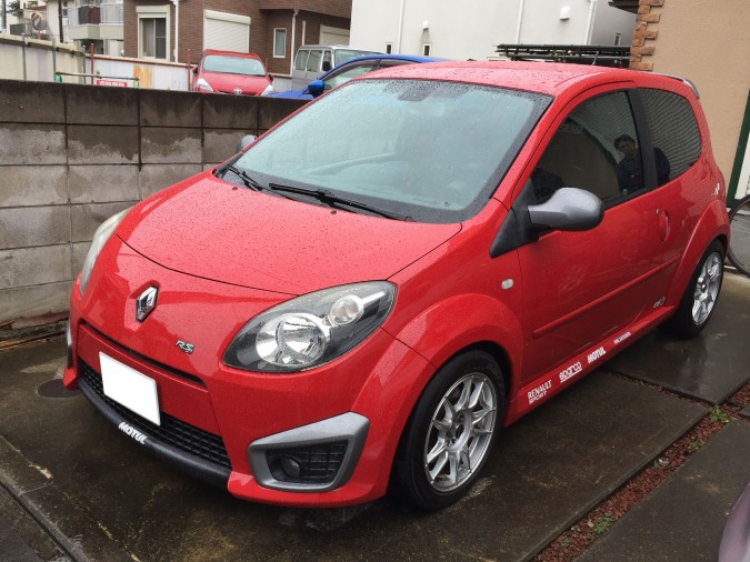 TWINGO RS FRONT