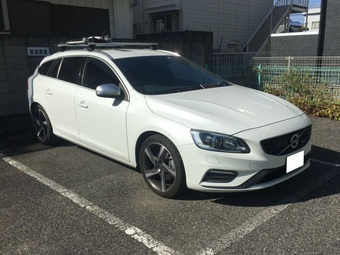 VO V60 T4 FRONT