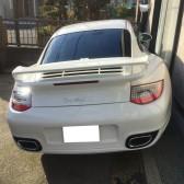 911 turbo s REAR