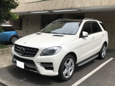Mercedes-Benz ML350 4MATIC BlueTECの買取