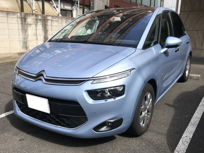 C4 PICASSO FRONT
